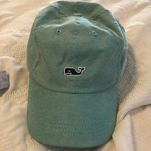 Vineyard Vines Teal Whale Hat